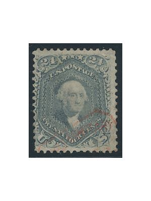"(70b), red ""Supplimentary Mail"" cancel, VERY FINE - 404241"