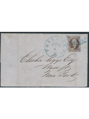 (1), Tied on Cover, Filing Crease, VERY FINE - 404377