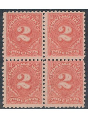 (J53b), Block OF 4, VERY FINE, og, NH - 404598