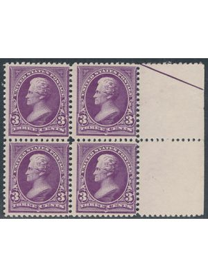 (253), Block of 4, F-VF, og, NH - 404612