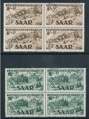 (B65-B66), blocks of 4, VERY FINE - 404905