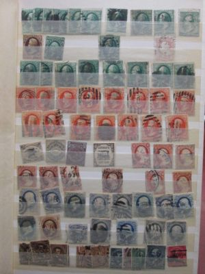 EXCELLENT STOCKBOOK ASSORTMENT OF A COUPLE THOUSAND STAMPS - 405151
