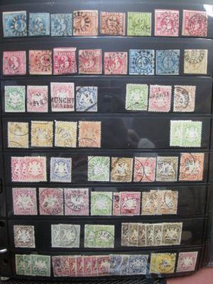 GERMAN STATES - VERY NICE COLLECTION OF HUNDREDS - 405180