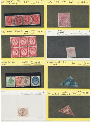 GREAT BRITAIN - SELECTION OF BETTER ITEMS. VERY FINE - 405198
