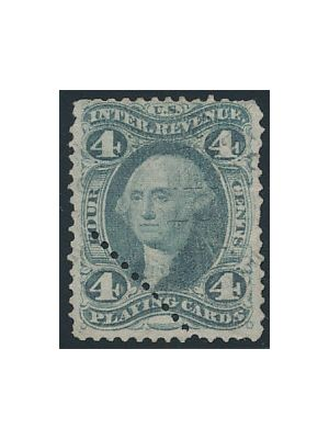 (R21c), additional row of perfs, VERY FINE - 405261