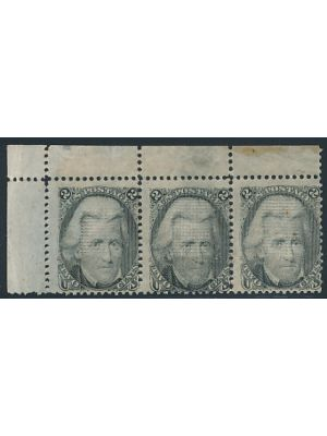 (93), strip of 3, F-VF, og - 405713