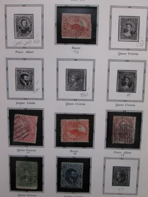 CANADA - VERY HIGH QUALITY MOSTLY complete collection to 1920 - 405750