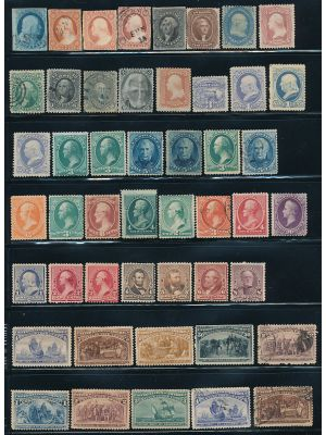 VERY HIGH QUALITY MAINLY MINT 19TH CENTURY COLLECTION - 405782