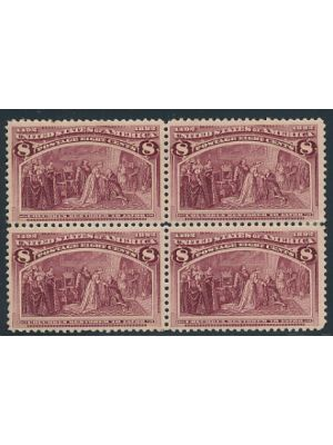(236), block of four, VERY FINE, og, NH - 405967