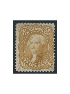 (67b), red cancel, F-VF - 405990