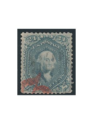 (70b), VERY FINE, Red Cancel - 406139