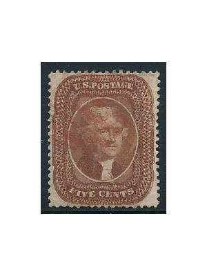 (30), red cancel, VERY FINE - 406146