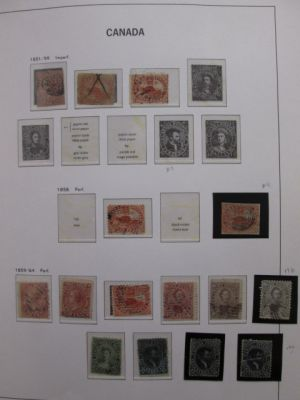 CANADA - VERY NICE COLLECTION IN A DAVO HINGELESS SPECIALTY ALBUM - 406161