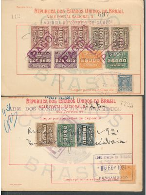 BRAZIL - Over 20 Documents Circa 1920 - 406168
