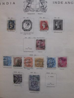 INDIA - COLLECTION OF SEVERAL HUNDRED STAMPS - 406221