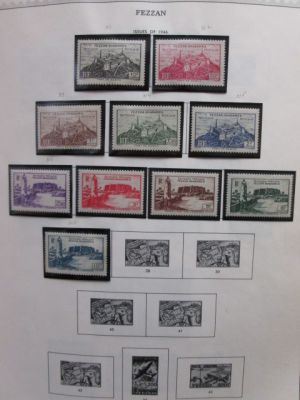 FRENCH COLONIES - ALL MINT PRE-INDEPENDENCE COLLECTION - 406222