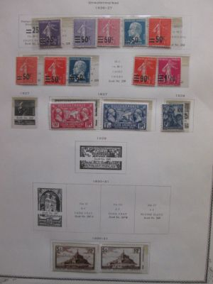 FRANCE - MINT COLLECTION OF LATE 1930's - 406284
