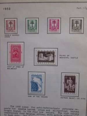 BELGIUM - SEMI-POSTALS MINT SET - 406285