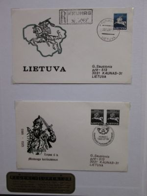 LITHUANIA - VERY NICE COLLECTION OF HUNDREDS - 406288