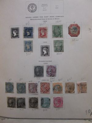 INDIA & STATES - VERY NICE COLLECTION OF HUNDREDS TO 1960 - 406298