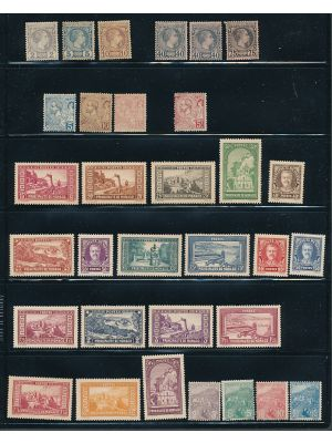 MONACO - Small Mint Group Of Early Issues - 406434