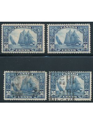 (158), two mint, two used, VERY FINE, mint og - 406456
