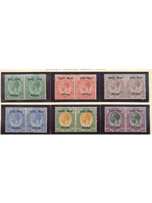 SOUTH WEST AFRICA - Very Nice Mint Collection, VERY FINE, og - 406535