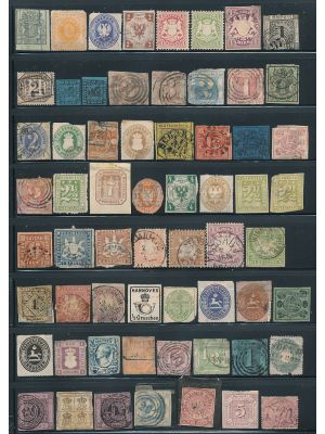 GERMAN STATES - VERY NICE MOSTLY - 406541