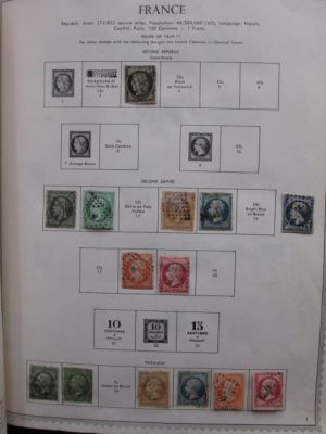 FRANCE - COLLECTION OF MANY HUNDREDS TO 1980 - 406661