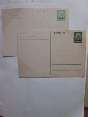 GERMANY - WWII AND EARLY BUND POSTAL STATIONERY - 406690