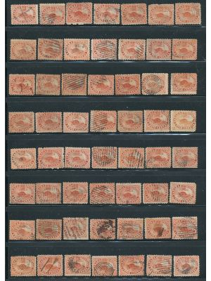 (15 {67 stamps}), F-VF - 406871