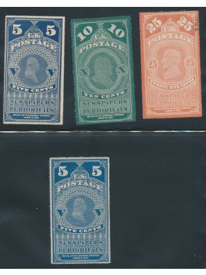 NEWSPAPER STAMPS - 407203