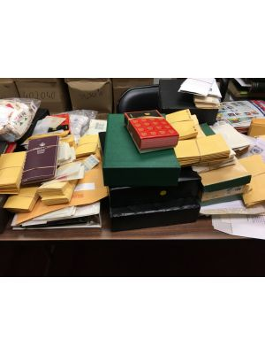 EIGHT LARGE CARTON COLLECTION OF A LIFETIME OFFERED COMPLETELY INTACT AS RECEIVED-407341