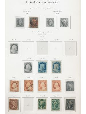 EXCELLENT US COLLECTION TO 1920 - 407377