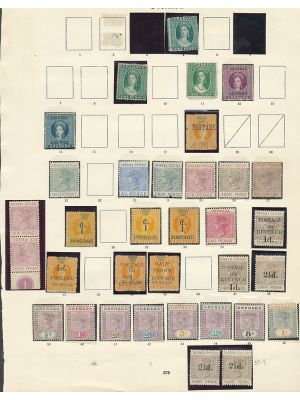 GRENADA - IMPRESSIVE ALL-MINT COLLECTION TO 1938 - 407504