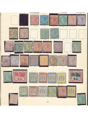 JAMAICA - BEAUTIFUL ALL-MINT COLLECTION TO 1938 - 407549