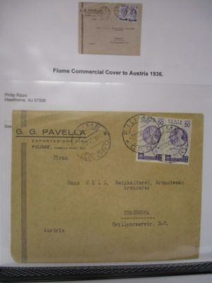 FIUME - VERY NICE SPECIALIZED COLLECTION OF COVERS - 407640