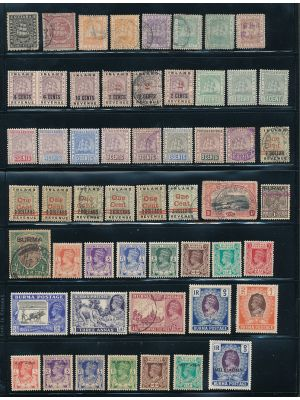 BRITISH COMMONWEALTH - HIGH QUALITY MOSTLY MINT SELECTION - 407766