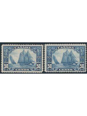 (153), two examples, VERY FINE, og, one is NH - 407803