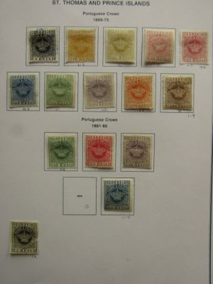 ST. THOMAS & PRINCE ISLANDS - HIGH QUALITY MOSTLY MINT COLLECTION - 407907