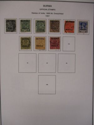 BURMA - LOVELY COLLECTION WITH PREMIUM SETS AND SINGLES - 407919
