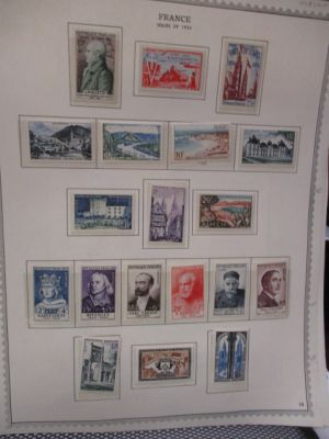 FRANCE - COMPLETE MINT COLLECTION - 1954-1965