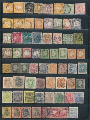 GERMANY & AREA - LOVELY PREMIUM SELECTION, F-VF - 408068