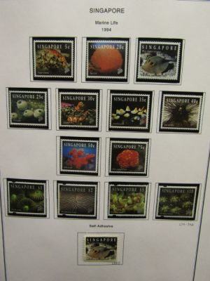 SINGAPORE - HIGHLY COMPLETE MOSTLY MINT COLLECTION TO 2010 - 408108