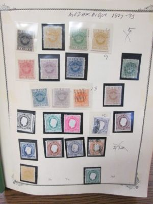 MOZAMBIQUE - WONDERFUL COLLECTION WITH THOUSANDS OF DIFFERENT STAMPS - 408125