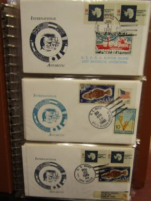 POLAR PHILATELY - COLLECTION OF NEARLY 160 COVERS - 408234