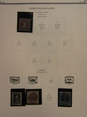 NEWFOUNDLAND - VERY NICE COLLECTION ON SCOTT SPECIALTY PAGES - 408250