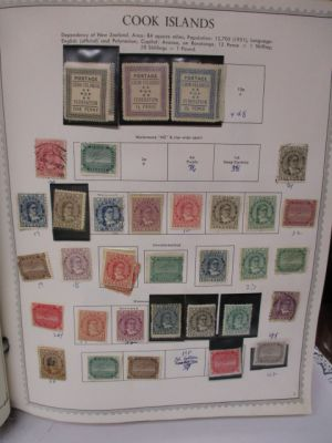 COOK ISLANDS - HIGH QUALITY COLLECTION, MOSTLY MINT - 408262