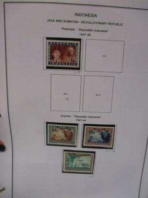 INDONESIA - VERY NICE THREE VOLUME COLLECTION, VERY FINE, og - 408332