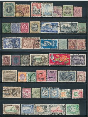 GREAT BRITAIN & THE COMMONWEALTH - HIGH QUALITY SELECTION WITH PREMIUM - 408418